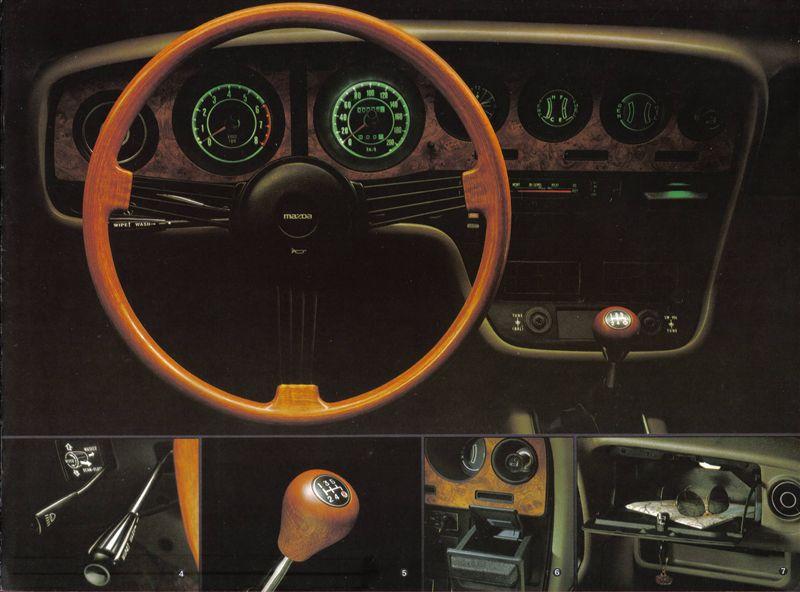 Mazda RX-5, 121, wnętrze, LHD, w środku, interior, klasyk