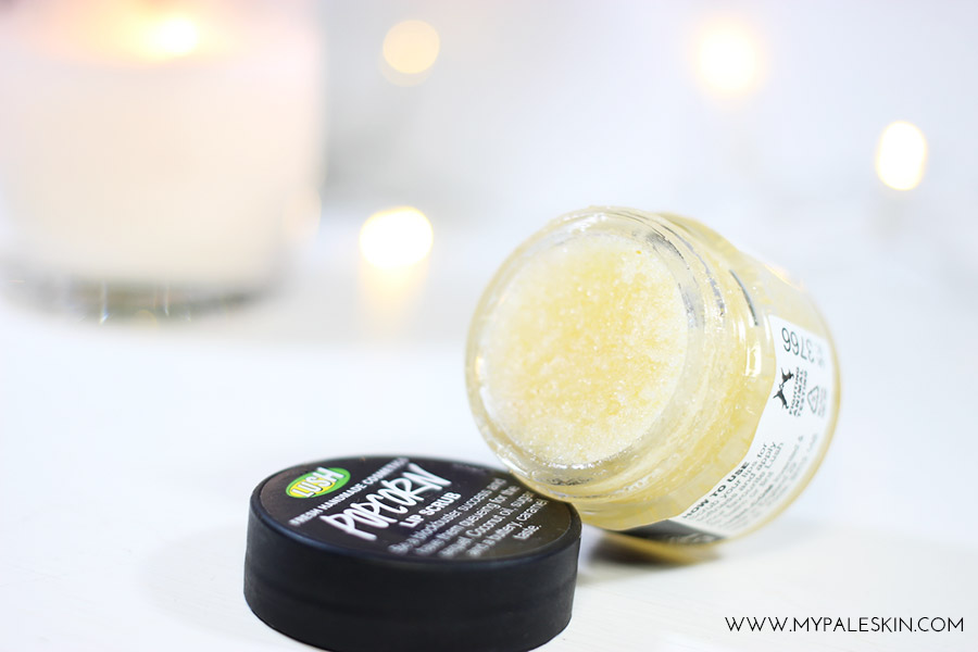 Lush Popcorn Lip Scrub Review