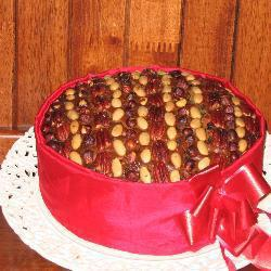 Le fruit ultime gâteau de Noël