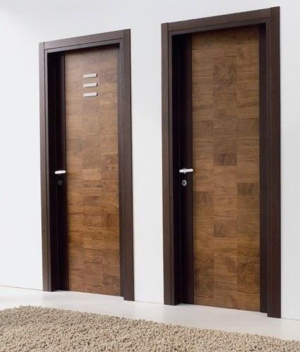 Pintu Rumah Modern: Cat Kusen Pintu Dan Jendela