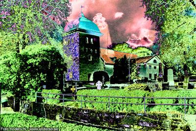 örgryte gamla kyrka, göteborg, foto anders n