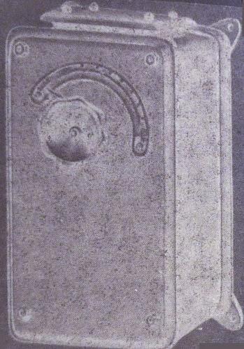 Внешний вид одного из пусковых реостатов серии РП
