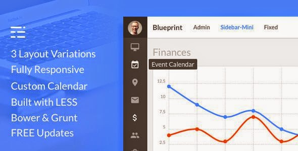 Blueprint - Responsive Admin Dashboard Template