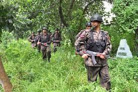 Myanmar BGP Killed Bangladeshi BGB