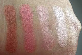 Sally Hansen Shimmer Strips - Rosy Glow, Sally Hansen Shimmer Strips - Rosy Glow swatch