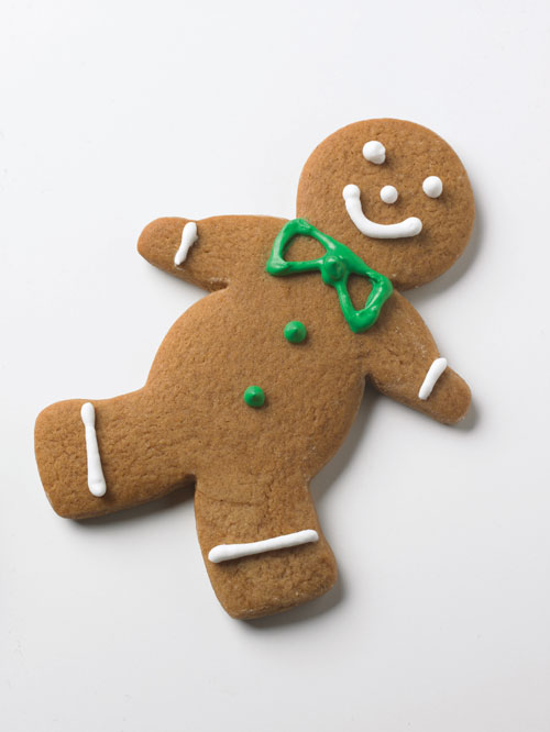 Gingerbread Man Cookies Recipe — Dishmaps