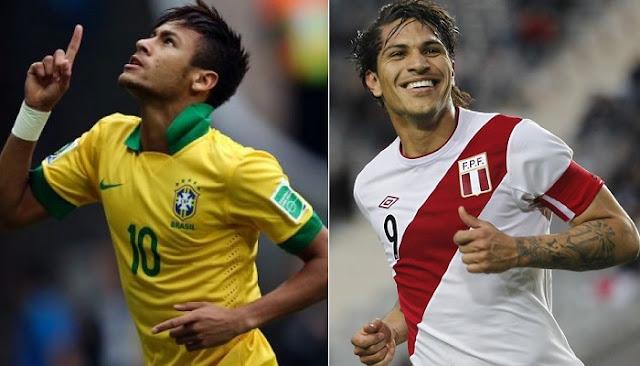 Brasil vs Peru en vivo