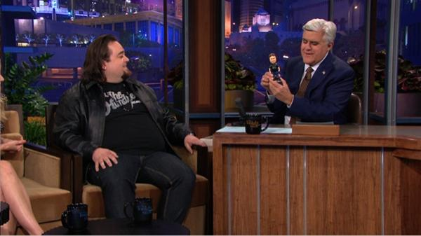 Check out Chumlee from Pawn Stars on Jay Leno Last night,Talks about