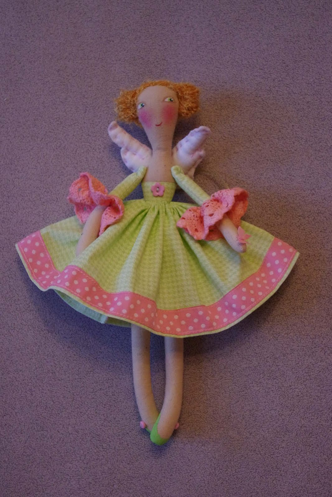 Как сделать куклу-фею из ниток своими руками (пошагово) 33 1