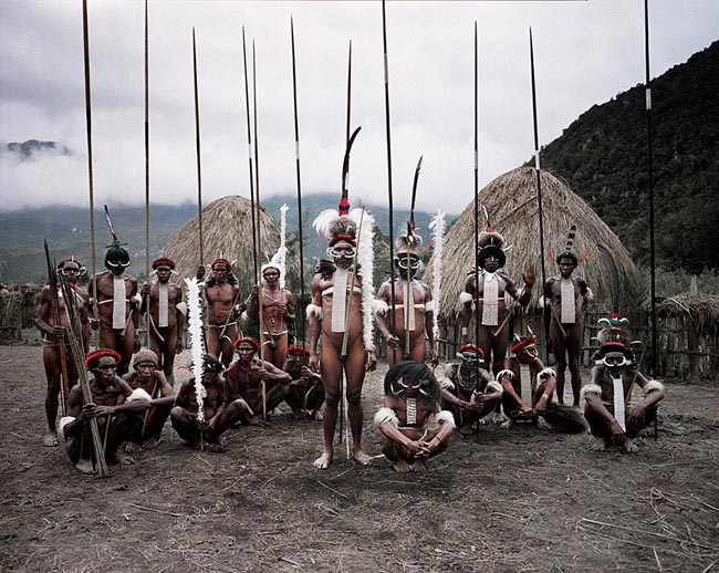 46 Must See Stunning Portraits Of The World's Remotest Tribes Before They Pass Away - Dani, Indonesia and Papua New Guinea