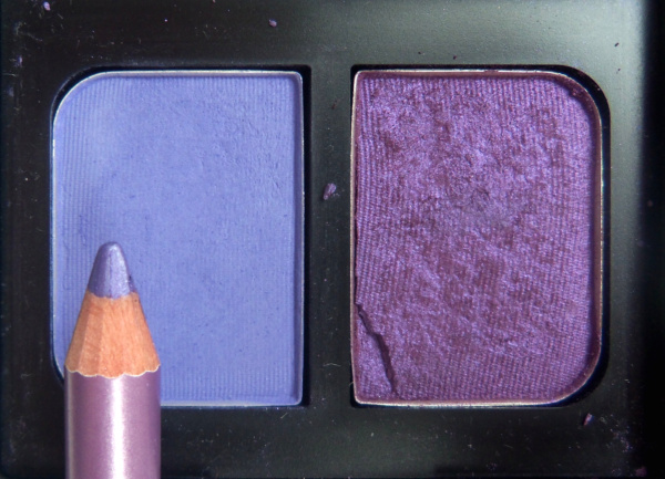 Nars duo in Jolie Poupee and MUA eye liner in lovely lilac