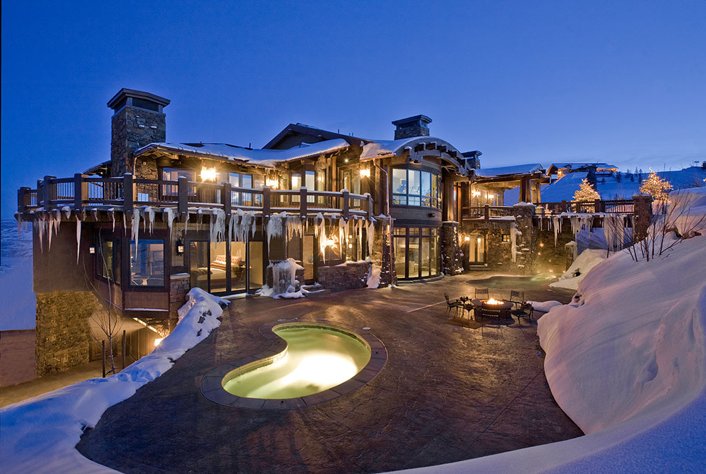 Ski dream home luxury mountain retreat utah most for Beautiful luxury houses