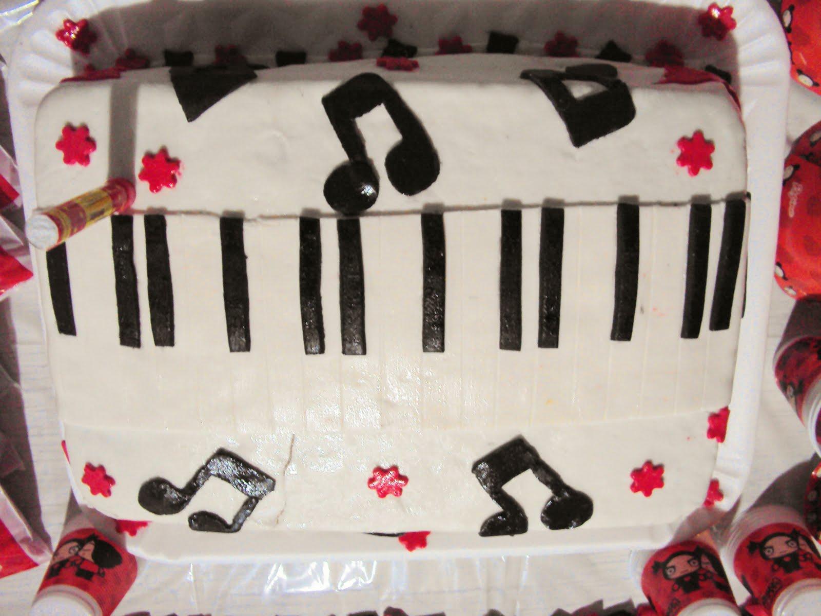 Bolo De Notas Musicais Bolo De Notas Musicais   Pasta Americana