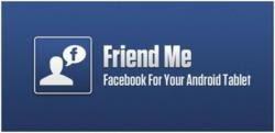 'Friend Me' Facebook App for Android Tablets