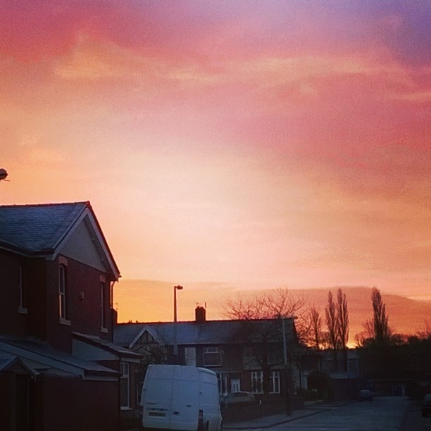 The Gallery : Health And Fitness - Sunset over Blackburn
