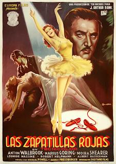 Las zapatillas rojas 1948 - Cartel Largo