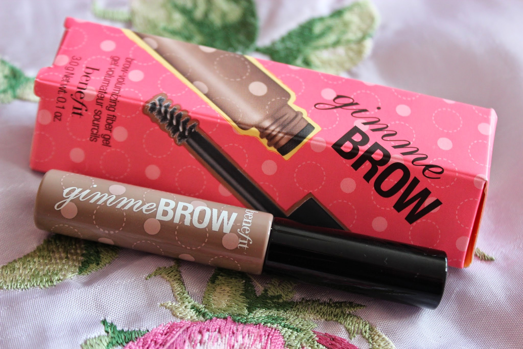 benefit cosmetics gimme brow review
