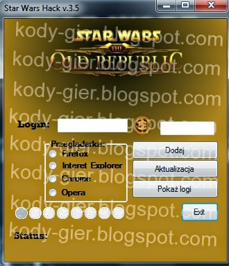 kody do star wars