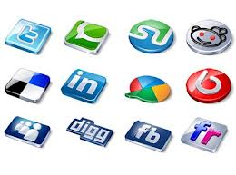 ازرار المفضلات الاجتماعية facebook twitter google plus