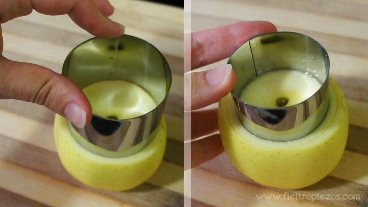 manzanas asadas paso 2