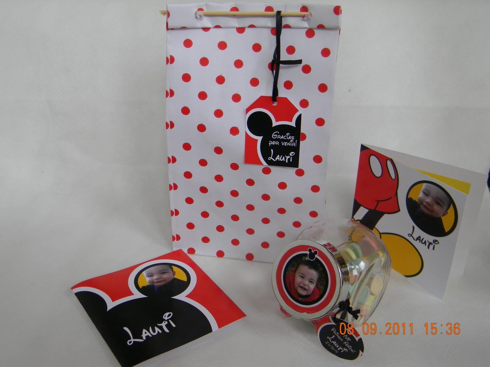Cumples Tematicos: Souvenirs de Mickey