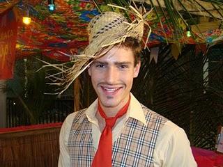 Maquiagem de Festa junina 2012 para homens - Fotos - Modelos