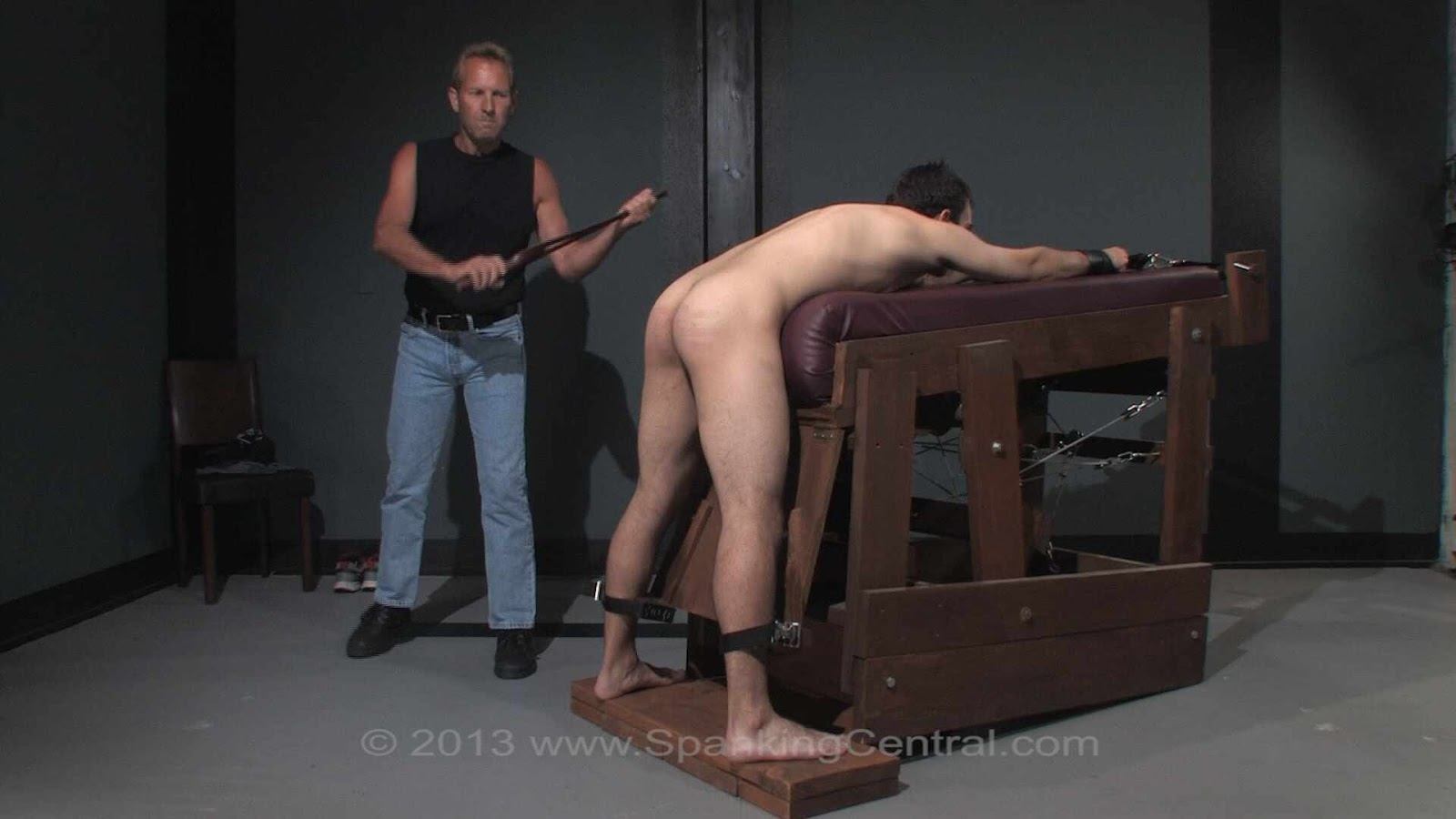 Pity, male spank central