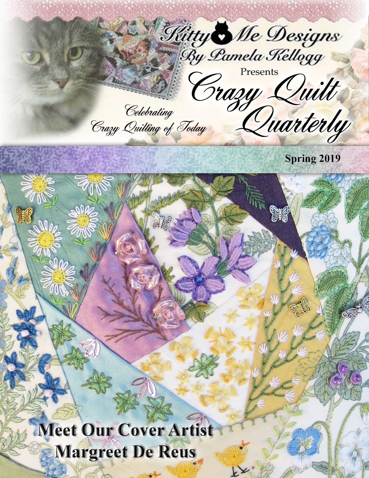 Crazy Quilt Quarterly Magazine