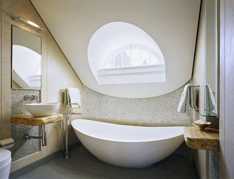Decorlah Modern Rustic Bathroom Design Further Lane