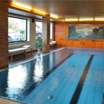 Schwimmbad im Hotel Walder in Schenna bei Meran