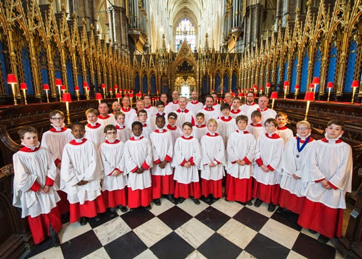 Choir of Westminster Abbey - photo Paul Grover