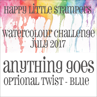 HLS July Watercolour Challenge BLUE до 31/07