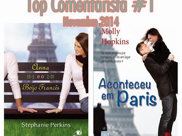 Resultado do Top Comentarista #1: Novembro de 2014