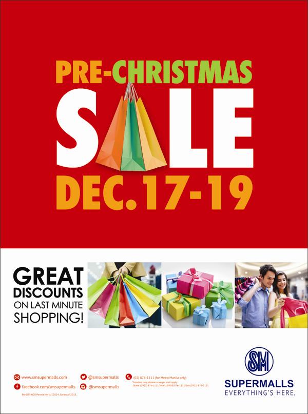 Manila shopper sm malls sm stores pre christmas sale 2013 for Christmas decs sale