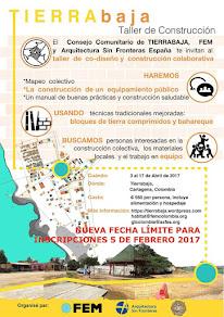 """TALLER """"TIERRABAJA"""" CARTAGENA DE INDIAS COLOMBIA ABRIL 2017"""