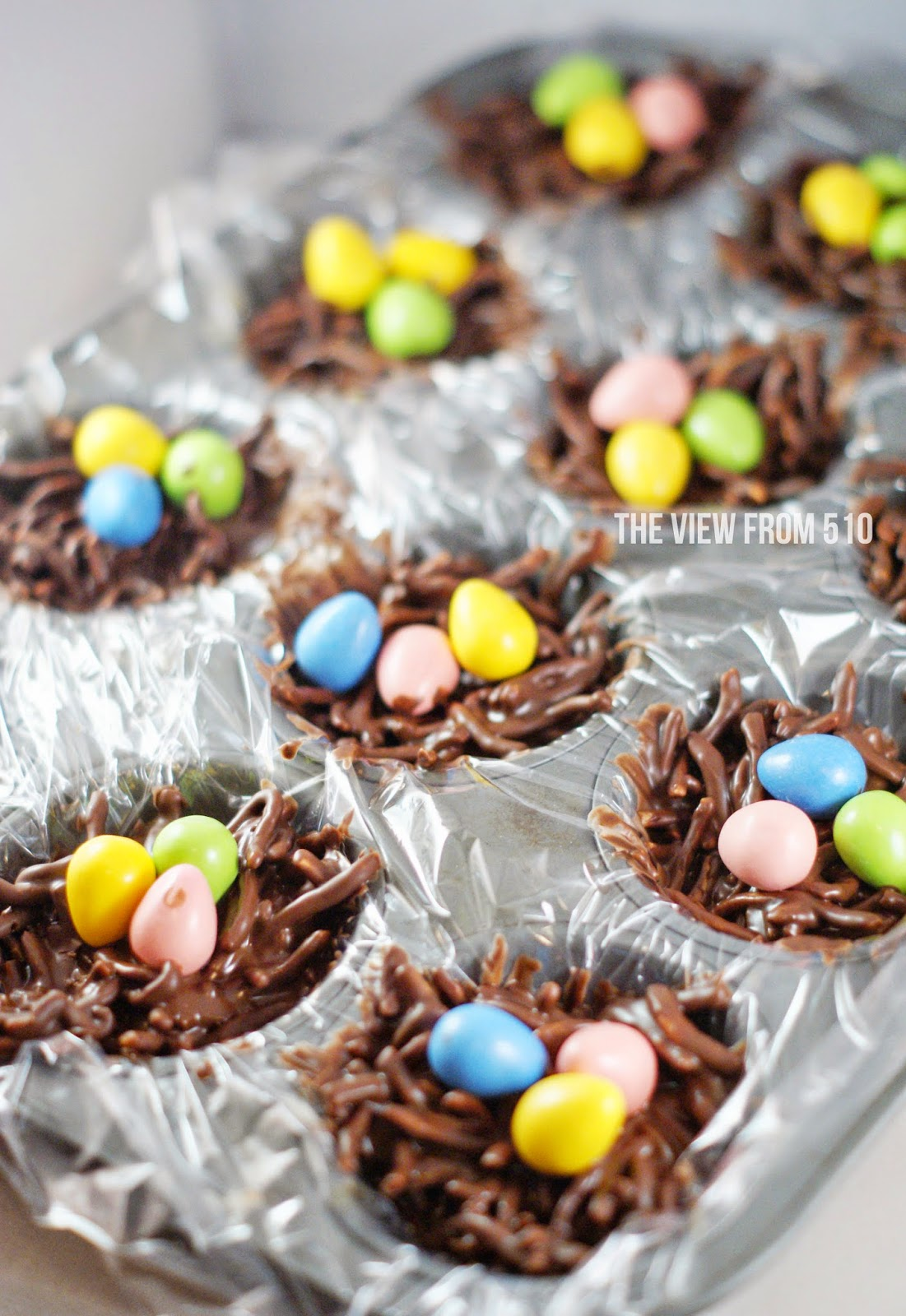 Peanut Butter Easter Bird's Nest #recipe