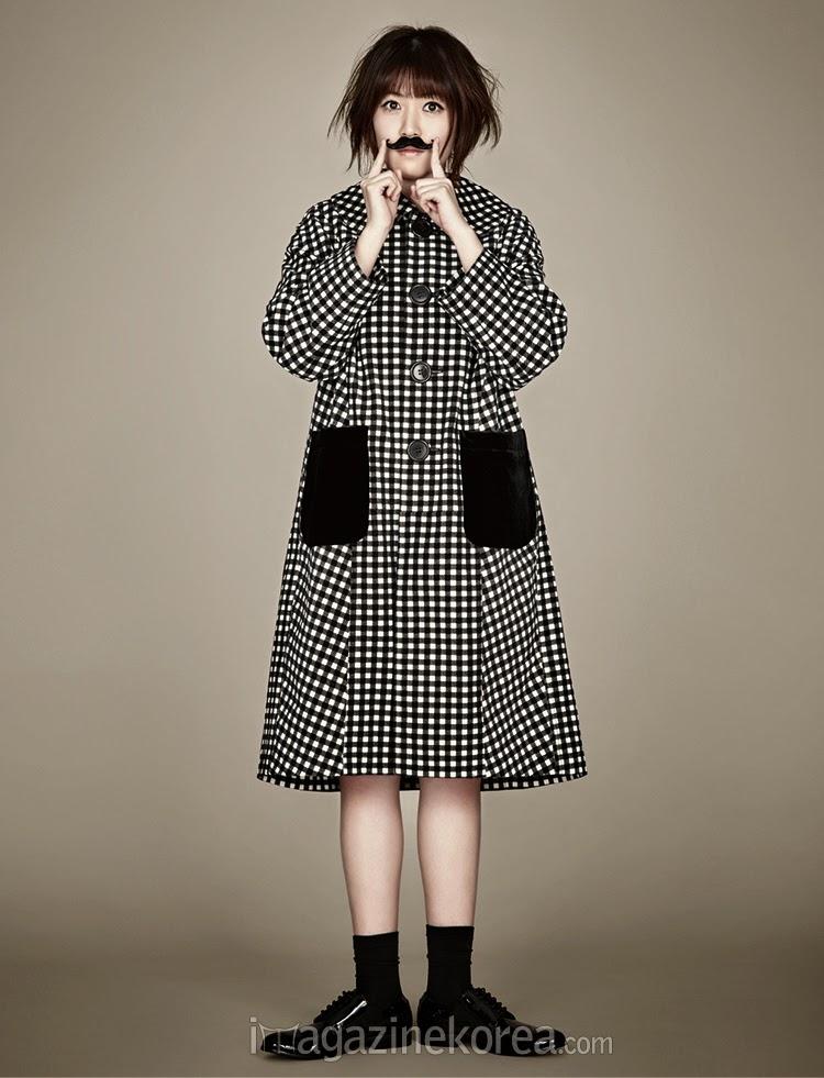 Shim Eun Kyung - Harper's Bazaar Magazine November Issue 2014