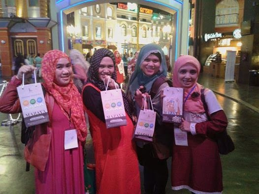 Hijab Workshop Bareng Mazaya