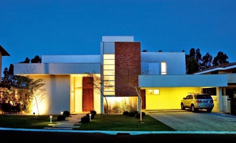 Fachadas de casas modernas fachadas de casas modernas y for Casas modernas famosas