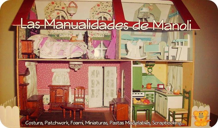 Las manualidades de Manoli
