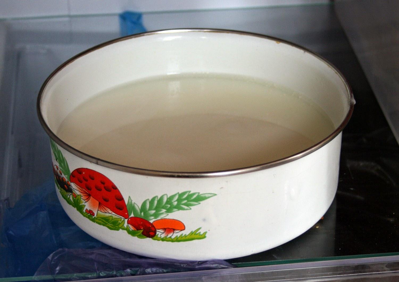 A bowl of Ayran