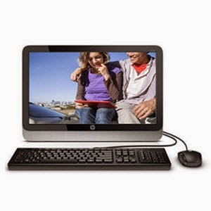 Buy HP All-In-One 20-2110in 19.45-inch Desktop PC at Amazon