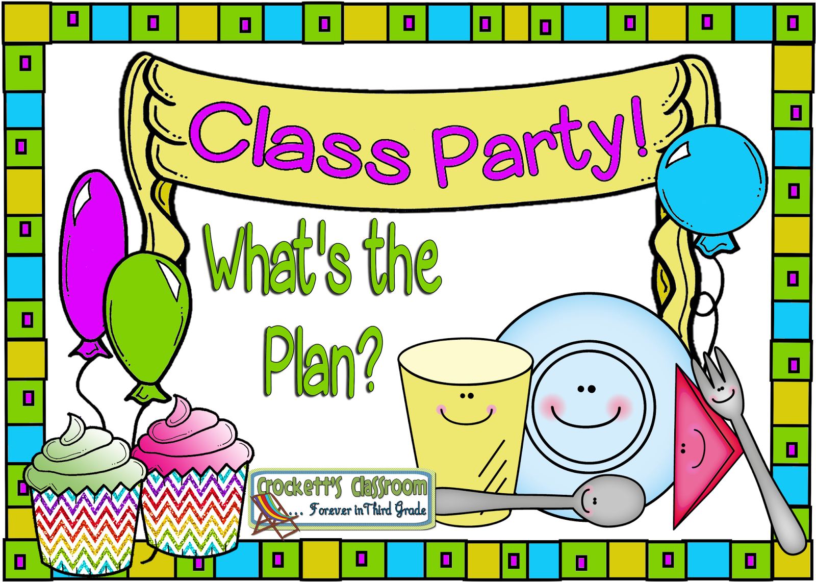 Classroom Birthday Party ~ Crockett s classroom forever in third grade let students
