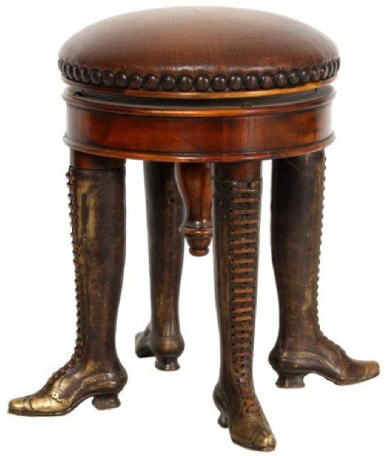 Anonymous Works Four Legged Stool