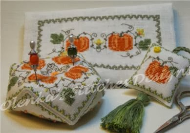"""Pumpkins Sewing Set"""