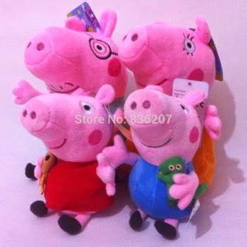 Familia Peppa Pig Peluches