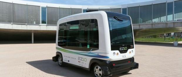 WEpods - kendaraan tanpa sopir