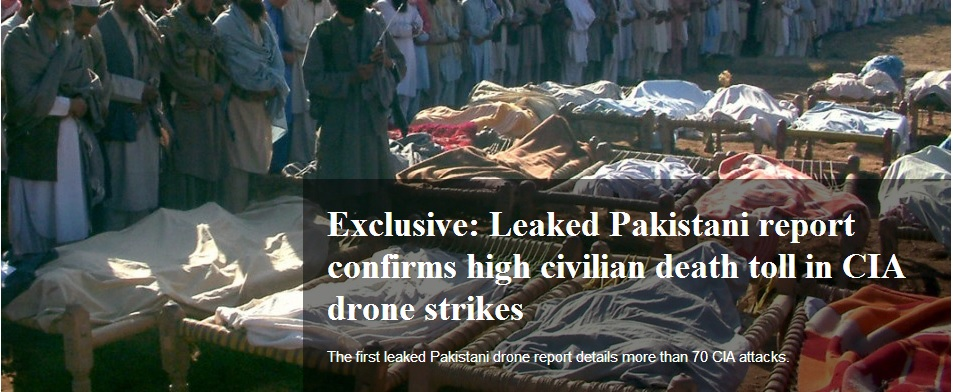 Pakistan: Reported US strikes 2018