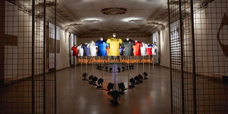 Koleksi Terbaru 10 Negara Peserta Piala Dunia 2014