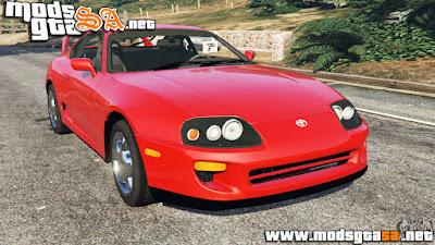 V - Toyota Supra RZ 1998 para GTA V PC